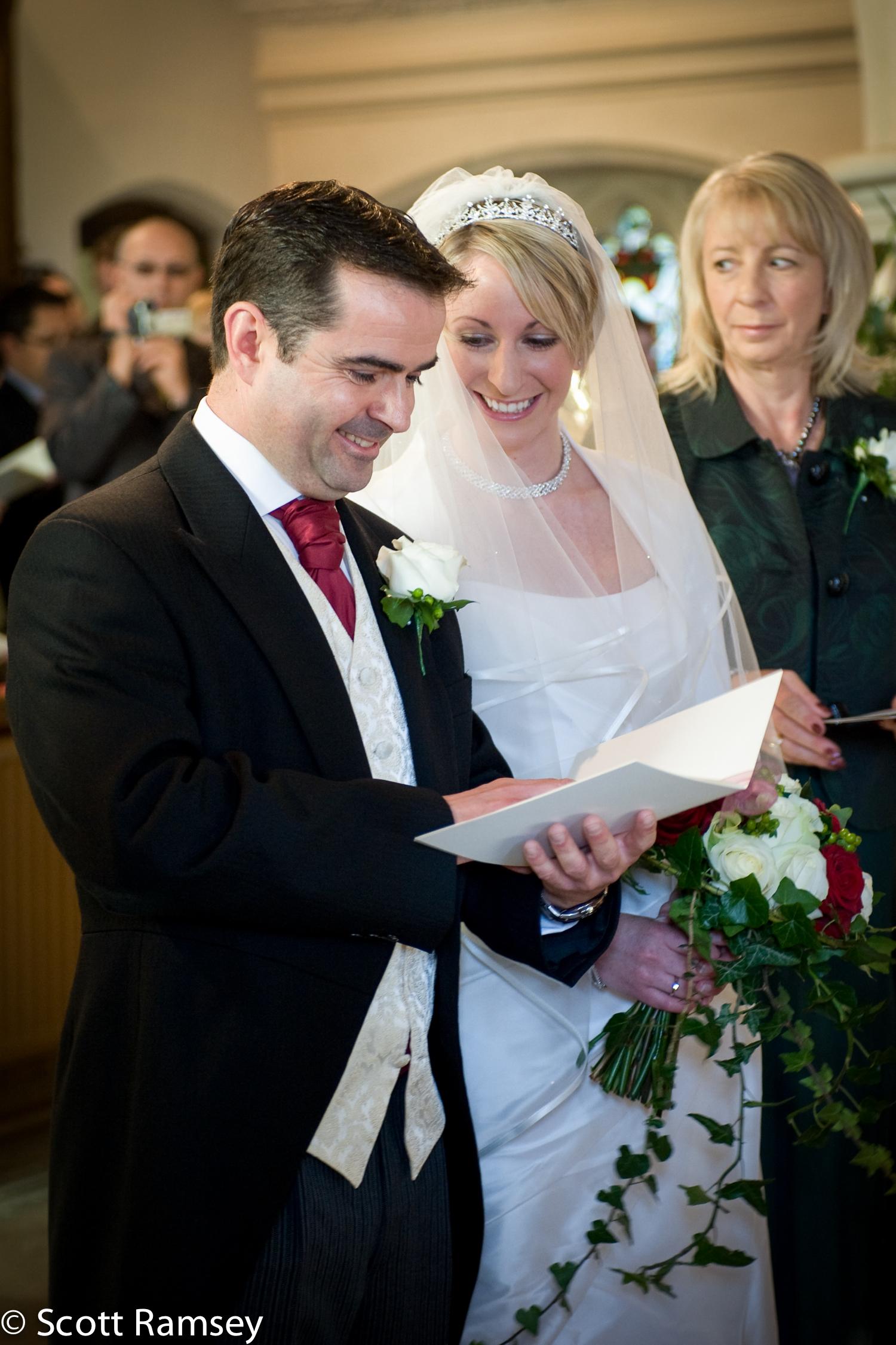 Bride And Groom Guildford Wedding