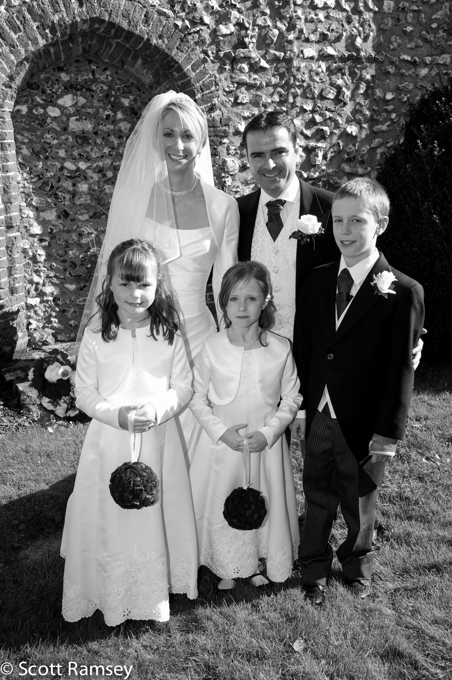 Wedding Group St Thomas Church
