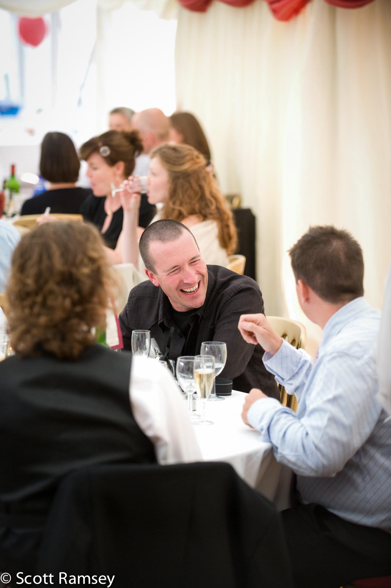 Guests Wedding Reception Surrey