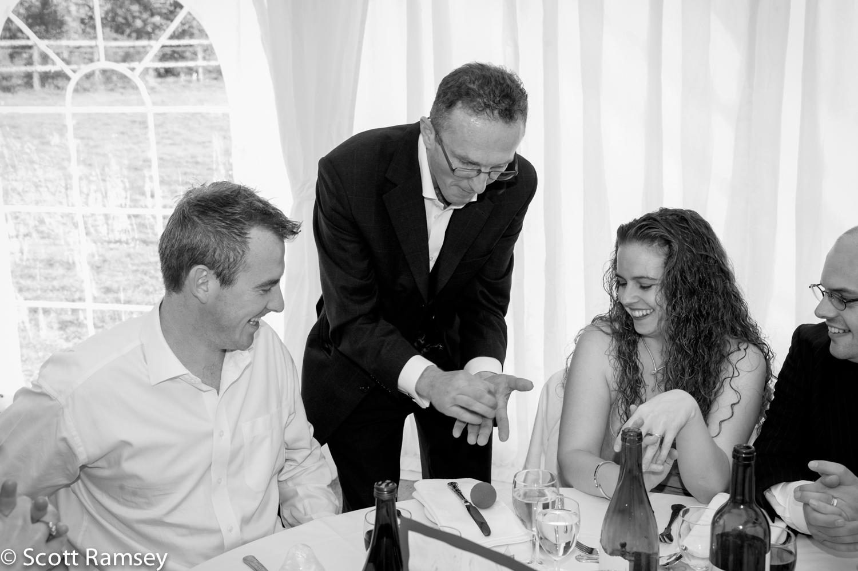 Magician Surrey Wedding