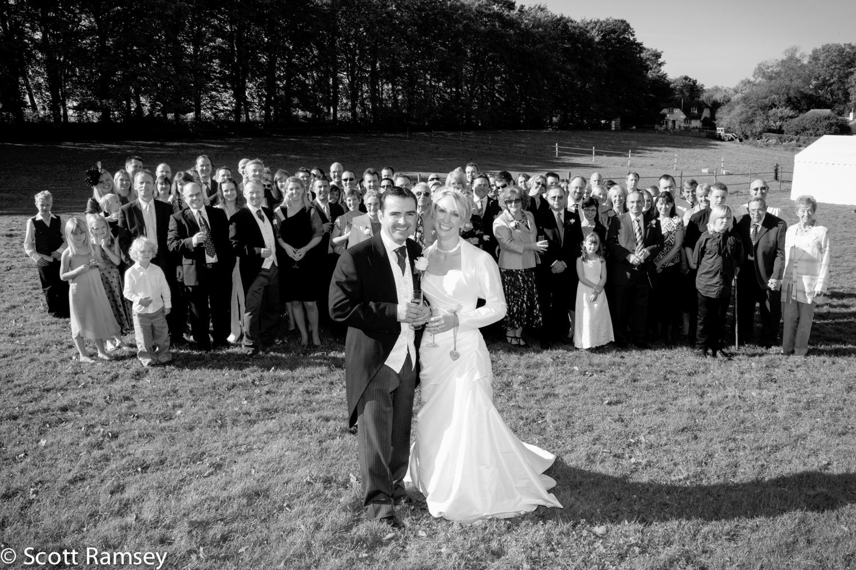 Surrey Wedding Group Photo