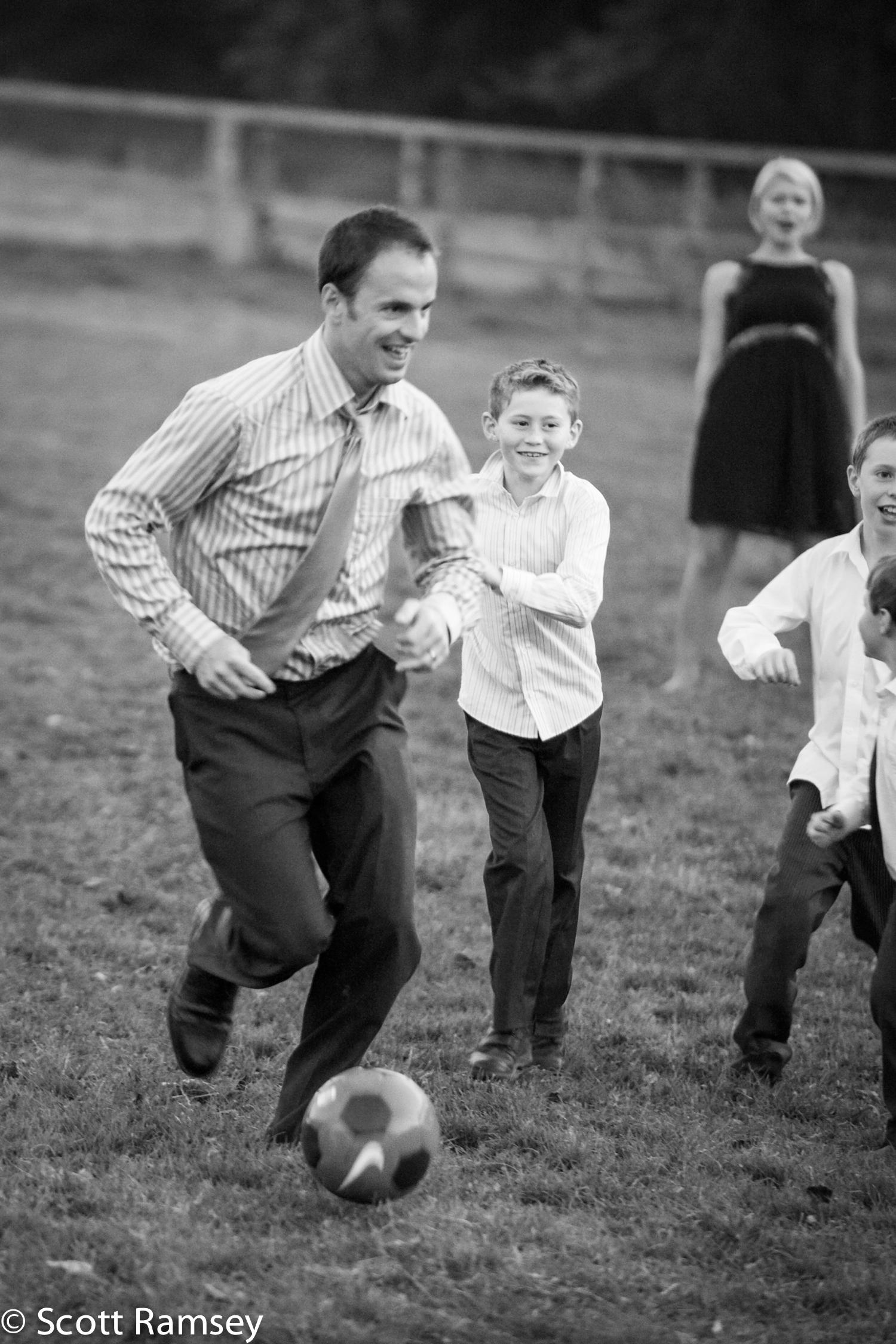 Wedding Football Game Surrey