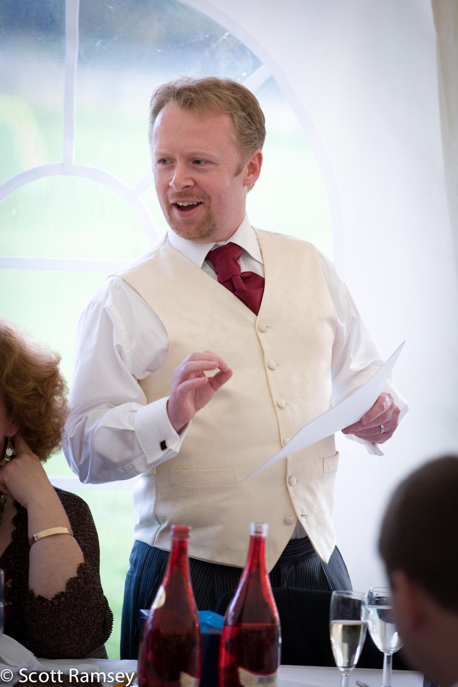Bestman Wedding Speech Surrey