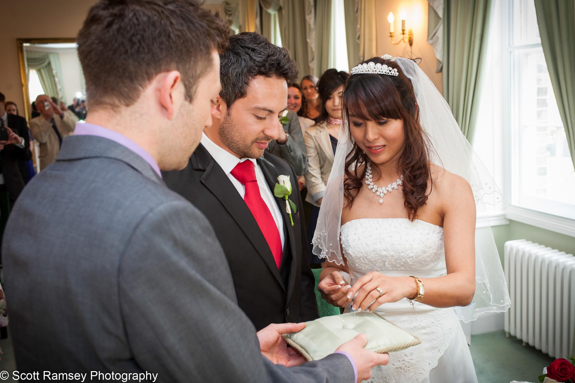 Portsmouth Registry Office Wedding Ceremony 040513-17
