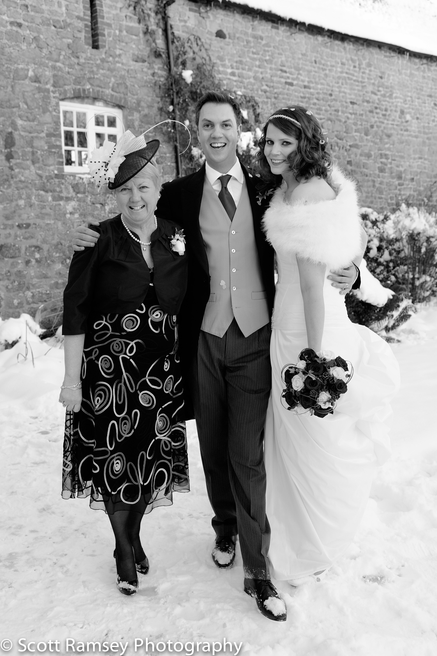 Winter-Wedding-Spread-Eagle-Hotel-Midhurst-Happy-Bride-Groom-Mum