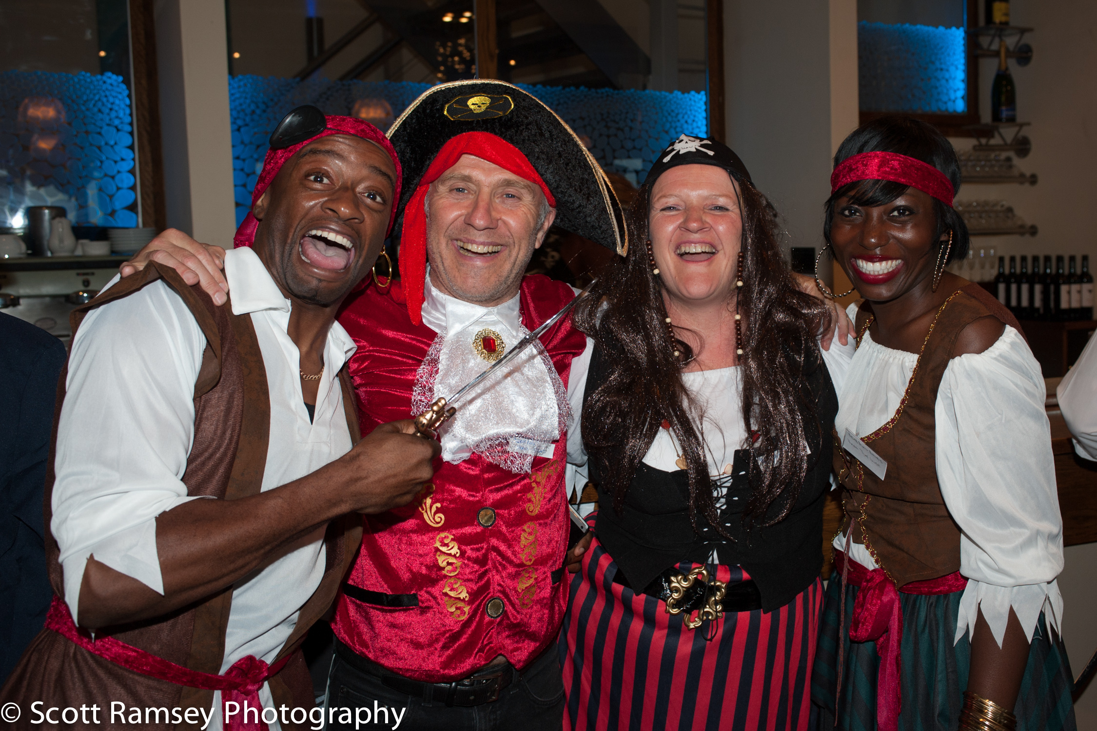 Brighton-Wedding-Photography-Pirate-Theme-Fun-Guests-Group-Photo