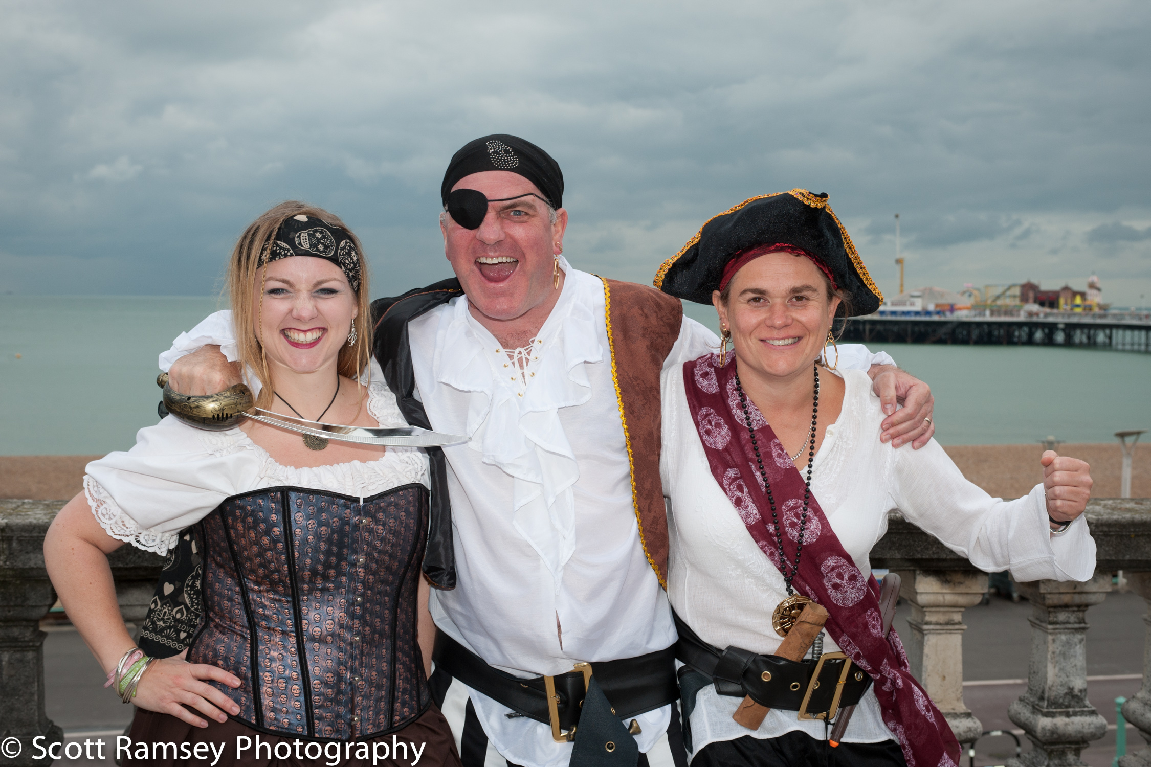 Brighton-Wedding-Photography-Pirate-Theme-Bestman-Guests-Fun-Gro
