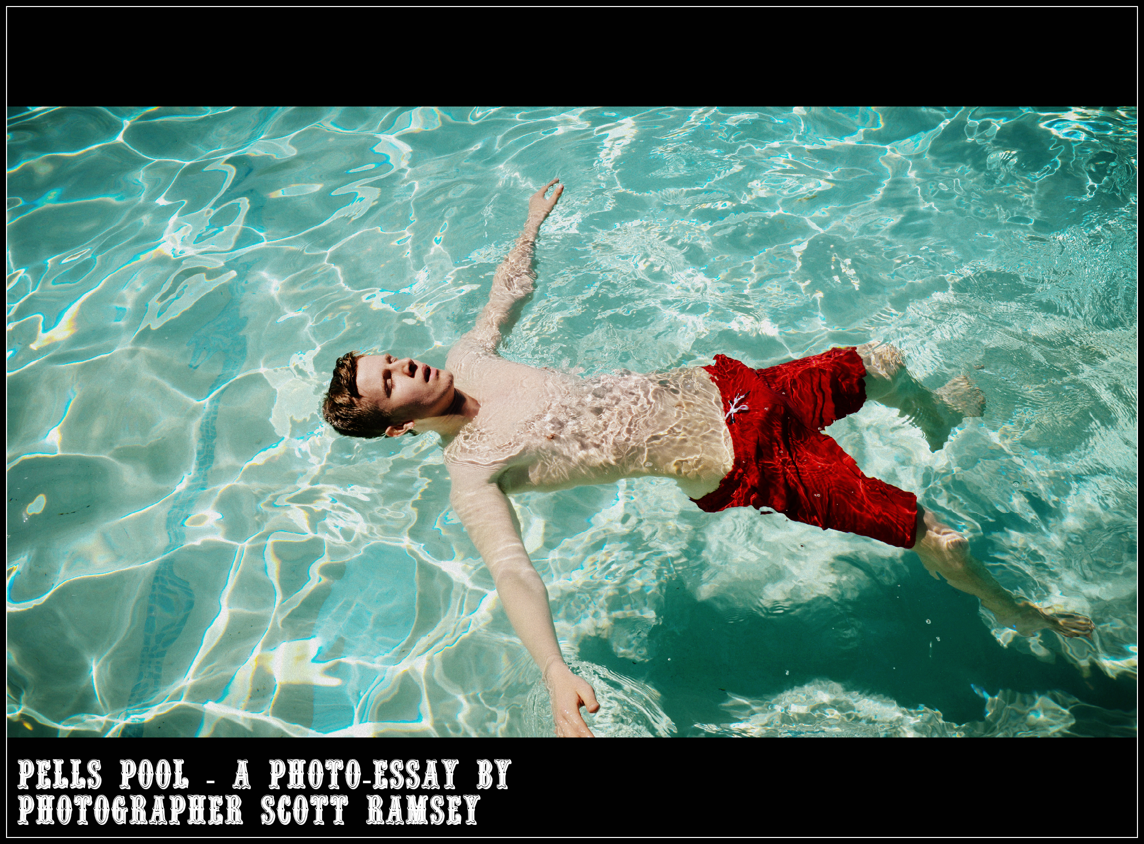 A new photo-essay by photographer Scott Ramsey - Pells Pool.