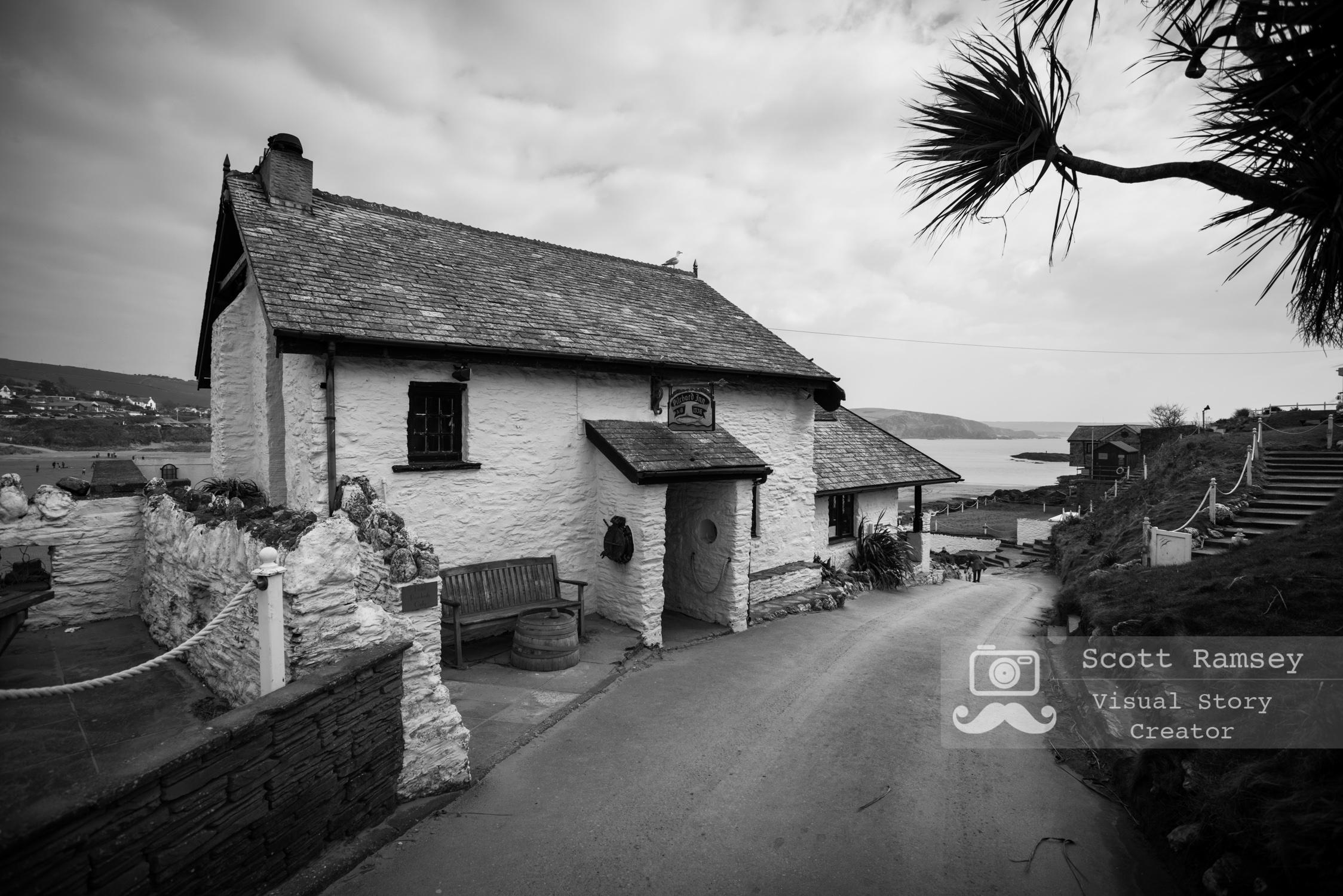 The Pilchard Inn on Burgh Island. Photo © Scott Ramsey.  One of the Pilchard Inn's most notorious visitors is the renowned  smuggler Tom Crocker . It is rumoured that Tom based himself on Burgh Island and regularly visited the Pilchard Inn and was shot outside, reports of his ghost returning on the anniversary of his death each year on or around the 14th August.
