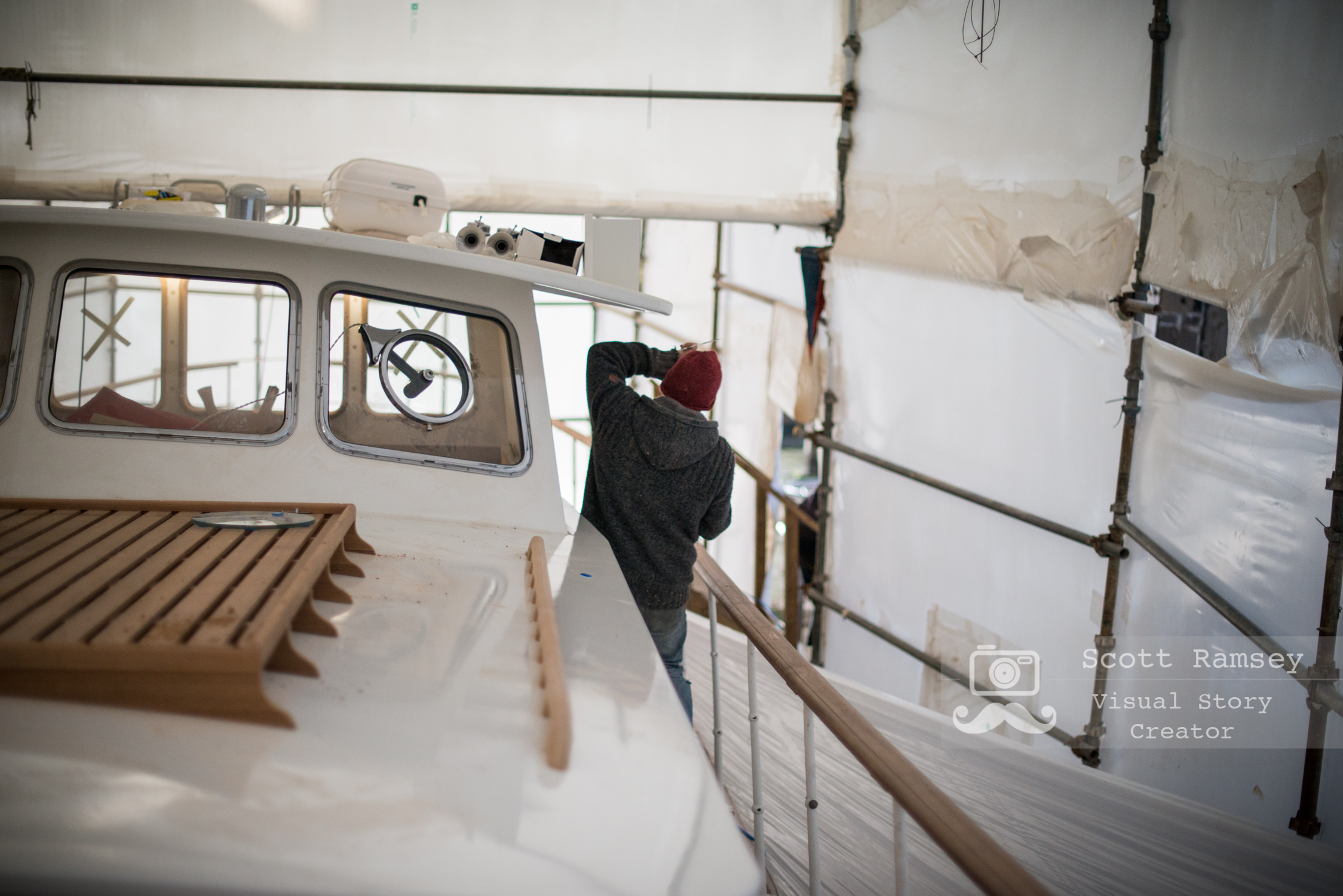 Stirling & Son Traditional Boat Builders Plymouth England 28
