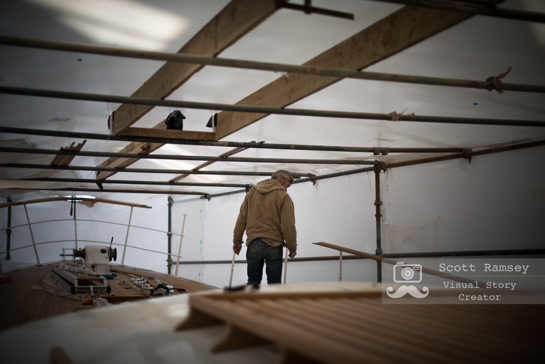 Stirling & Son Traditional Boat Builders Plymouth England 33