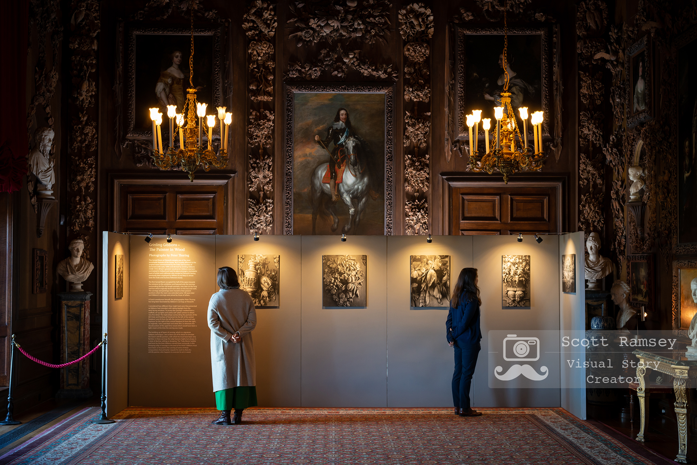 Sussex PR and Public Relations Photographer, Scott Ramsey photographs   a National Trust exhibition of Dutch paintings on display at Petworth House in West Sussex. Photo © Scott Ramsey/The National Trust
