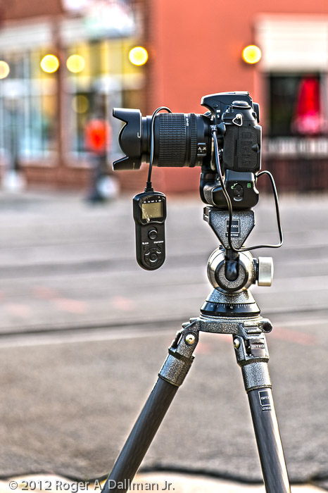 Use a tripod and cable release for sharper photographs.