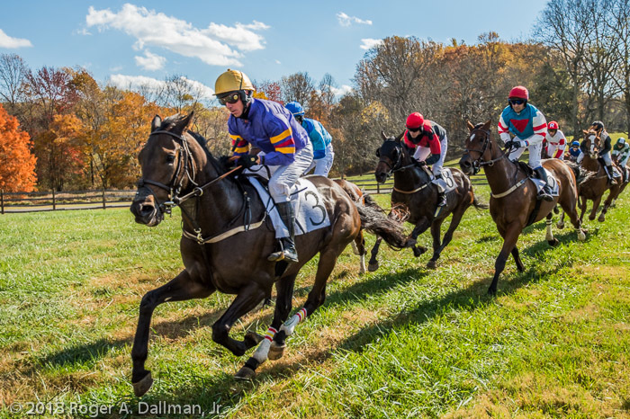 The Montpelier Hunt Races, Orange, Virginia.
