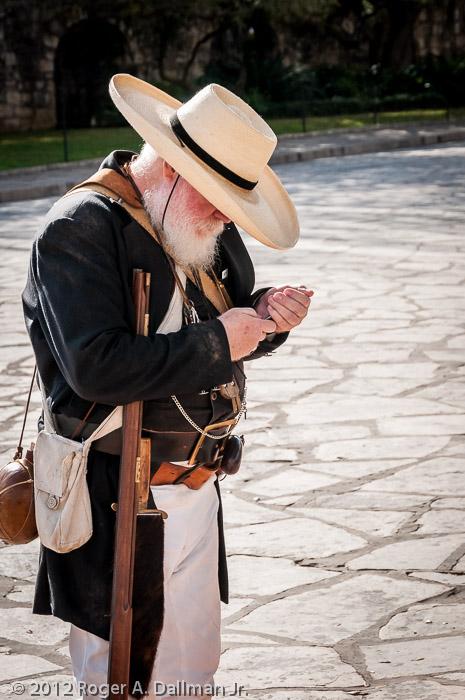 At the Alamo, San Antonio, TX