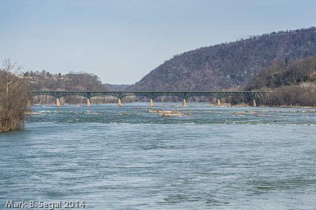 Potomac River rolling towards DC