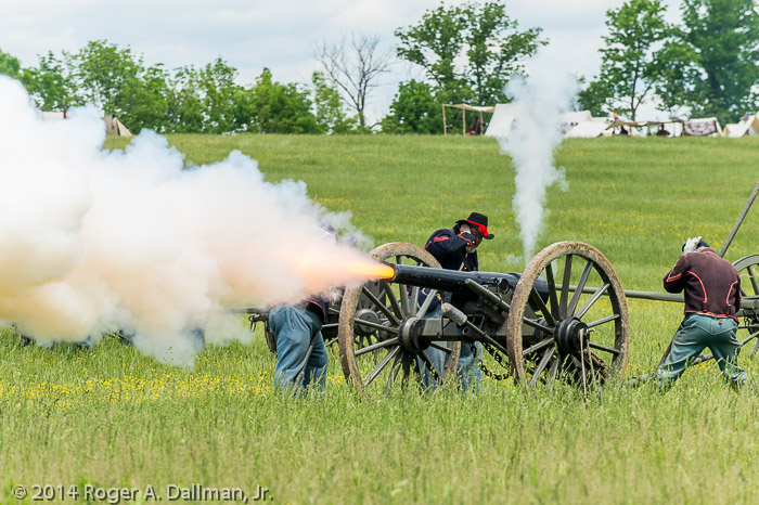 I'm still working my Civil War sesquicentennial project.  I love the artillery photos.  New Market, Va.