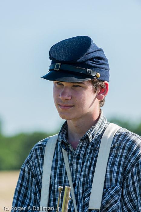 Young Gettysburg Soldier