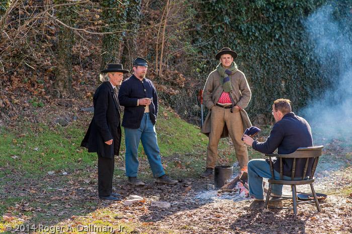 Harpers Ferry Re-enactors