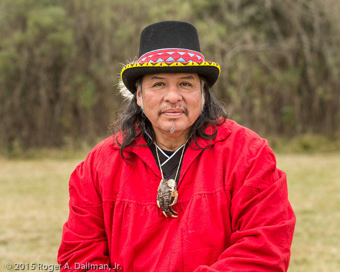 One of the Choctaw participants
