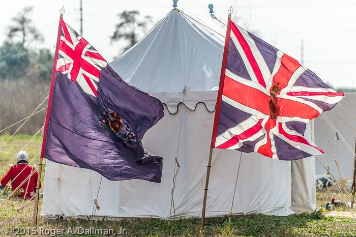 Enemy battle flags