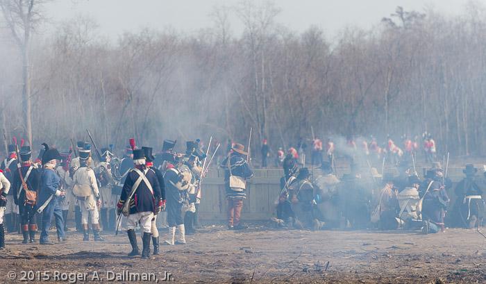 The British advance