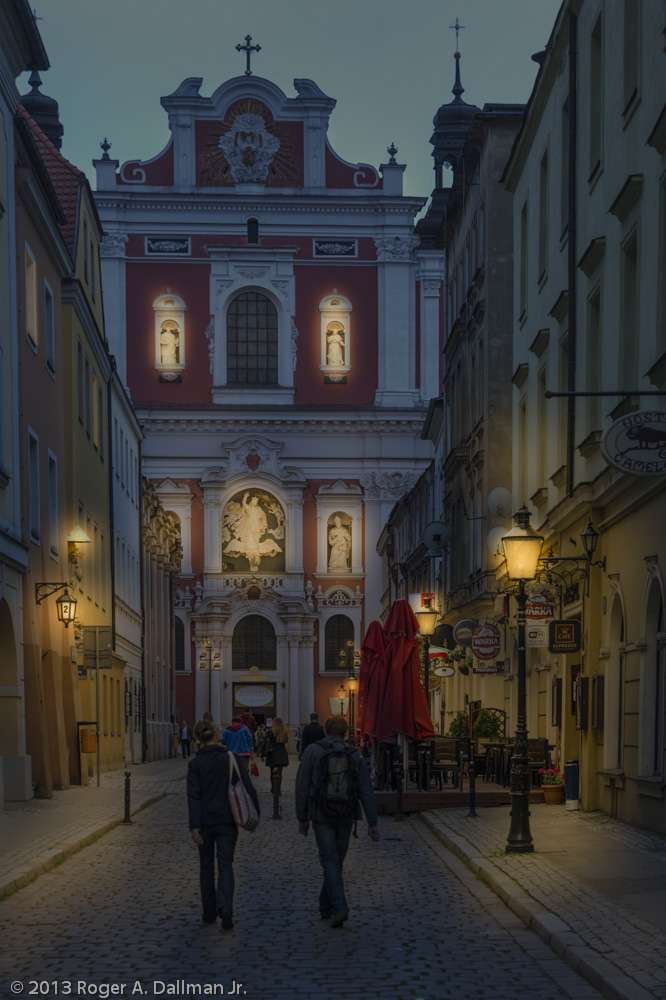 Night time in Poznan?