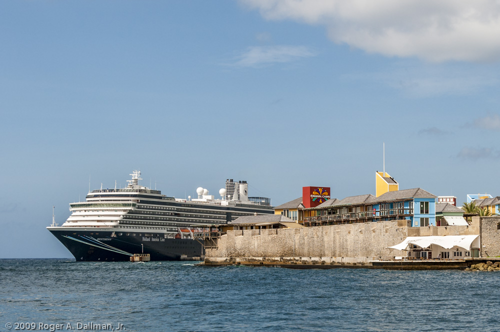 Westerdam, our venue for a Curacao workshop