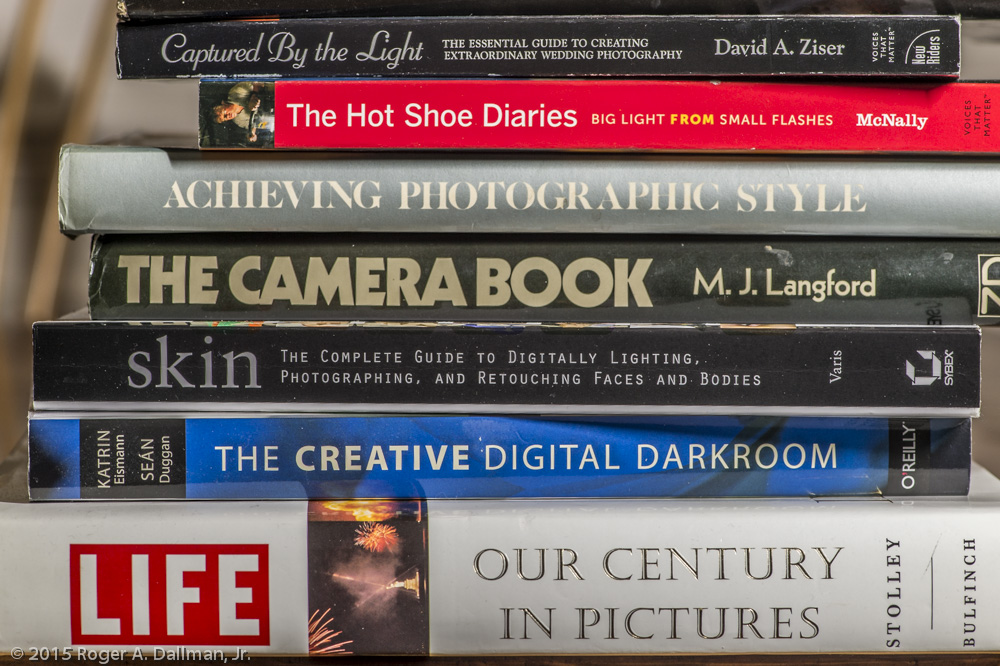 Just a few photo books from my library.
