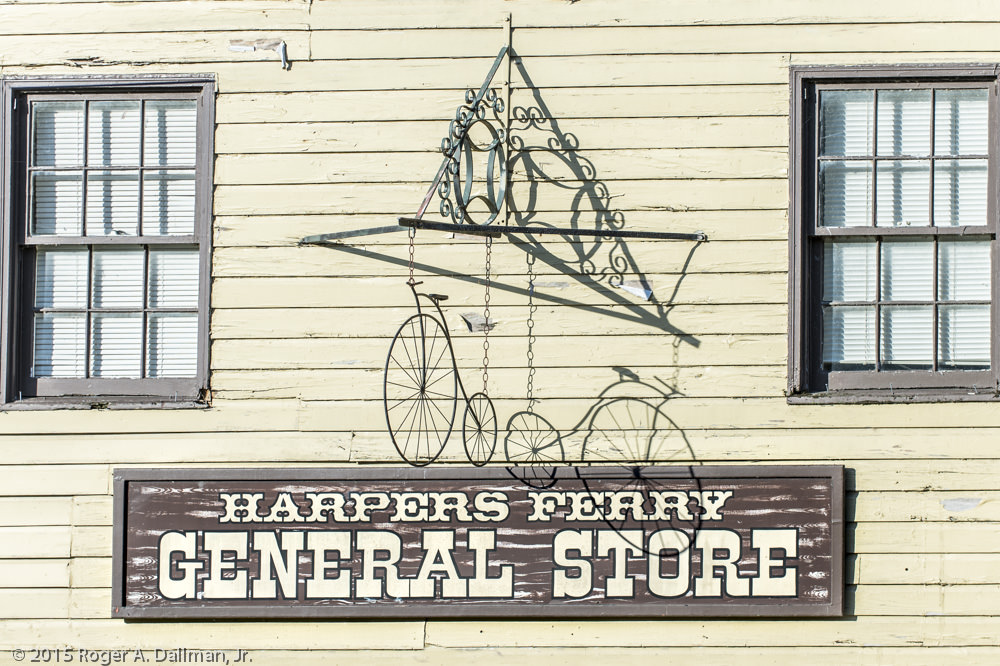 Harpers Ferry signage