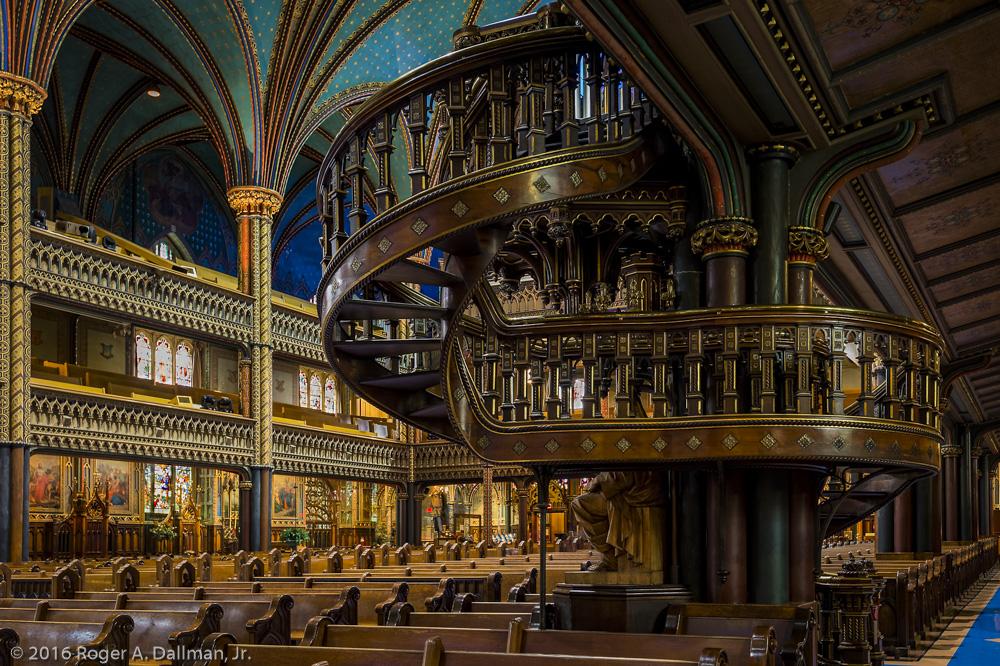Basilica Notre Dame, Montreal, Canada