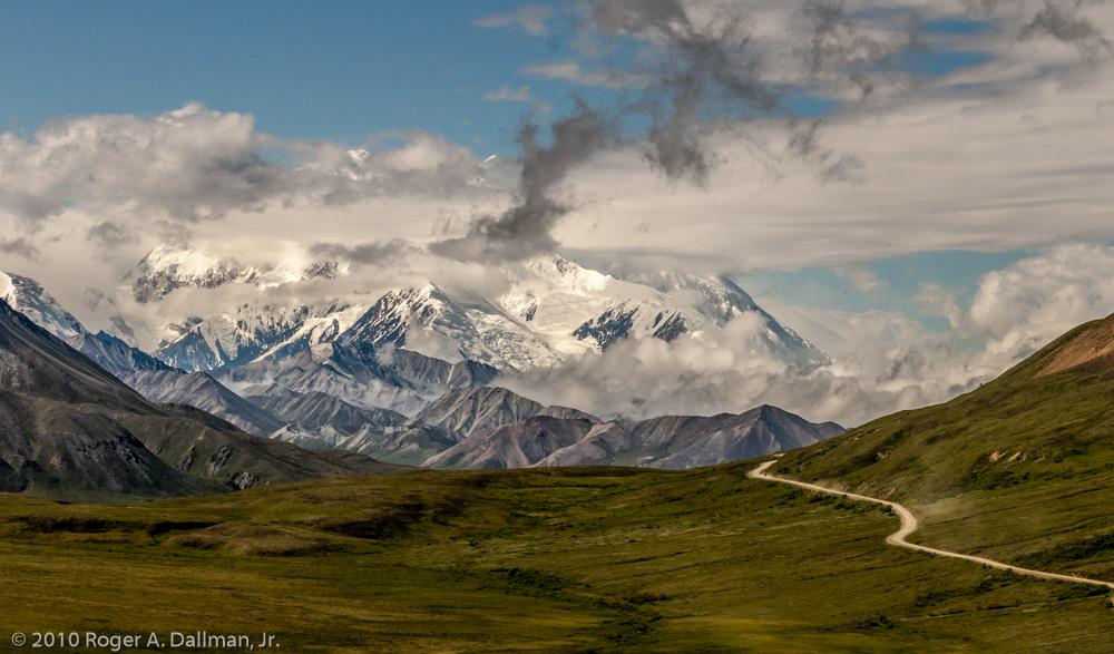4 photo pano, Denali, Alaska