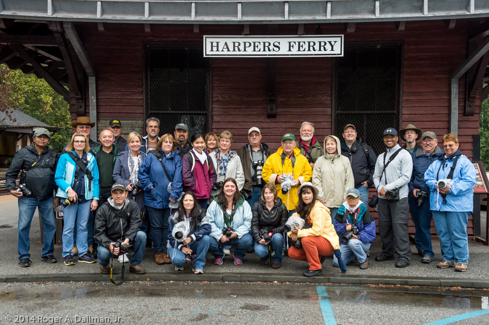 Our 2014 Harpers Ferry walkers