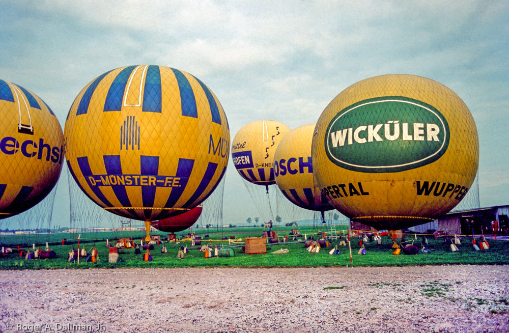 Balloon Fest, in Augsburg, Germany