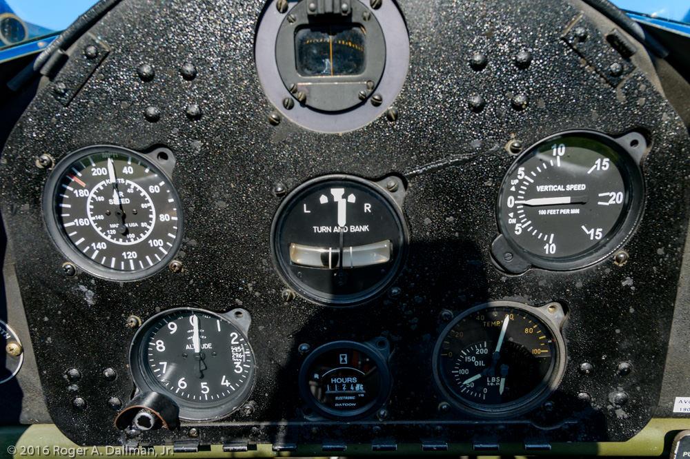 Stearman cockpit RD42815
