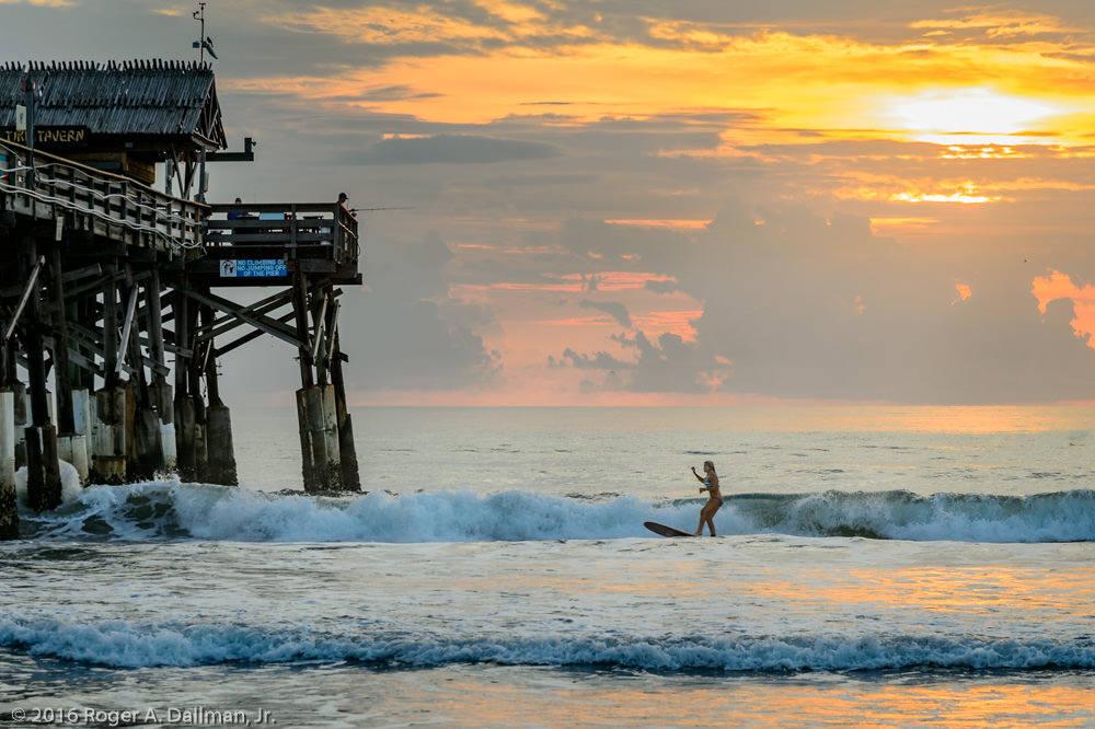 Surfing Cocoa Beach