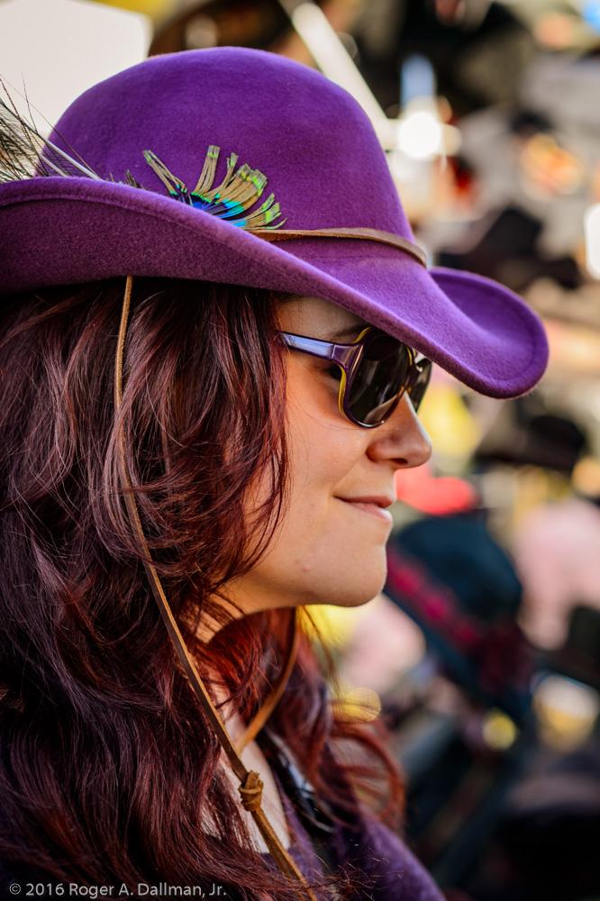 New hat, Orange, VA