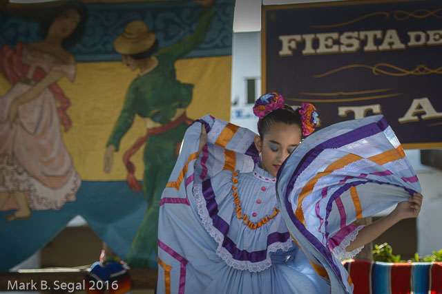 Young Fiesta Dancer