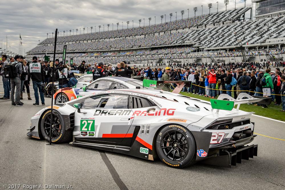 Dream Racing's Lamborghini Huracan GT3, GT Daytona Class