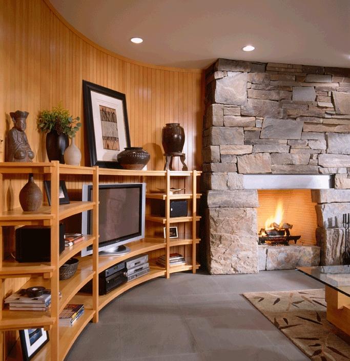 Modern Creekside Manor