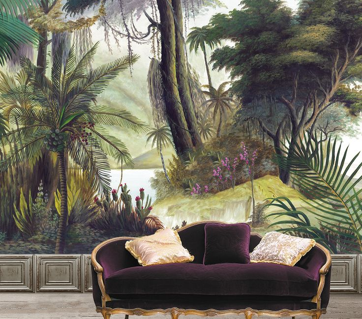 Ananbo - Handpainted wallpaper scenes