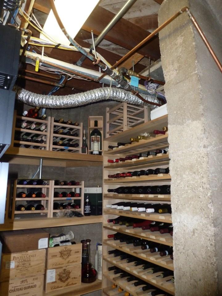 Wine Cellar Before