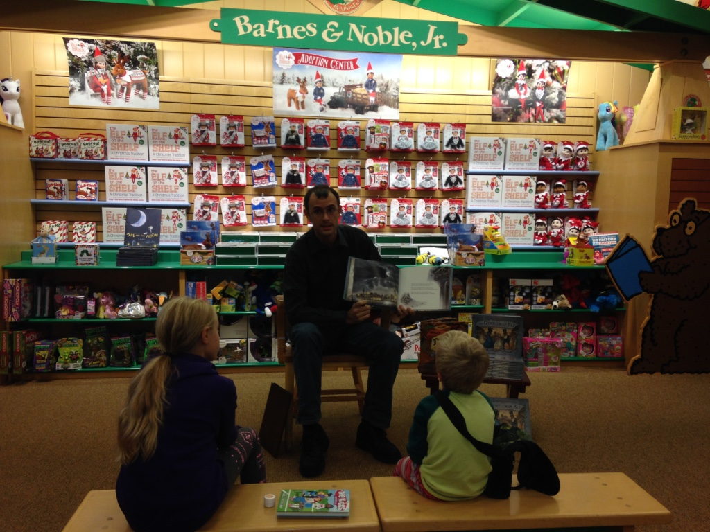 Abraham Schroeder at Barnes and Noble