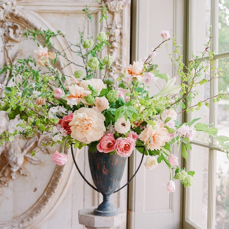 Spring Urn Arrangement by Sprout Floral Design