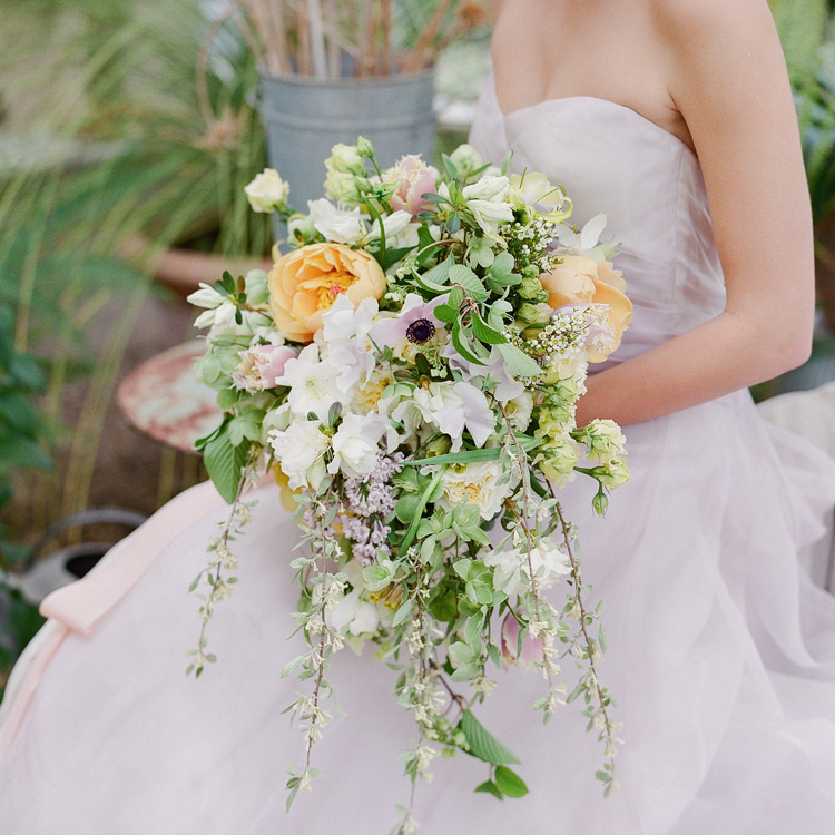 Spring Cascade Bouquet by Sprout Floral Design