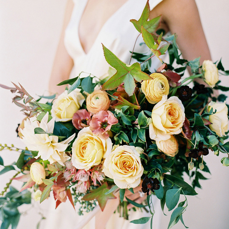 Muted Fall Bouquet by Sprout Floral Design