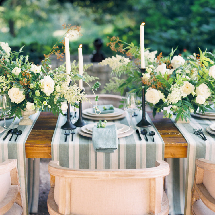 Summer English Garden Tablescape by Sprout Floral Design