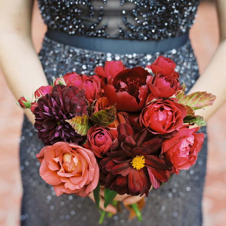 Fall Bridesmaid Bouquet by Sprout Floral Design
