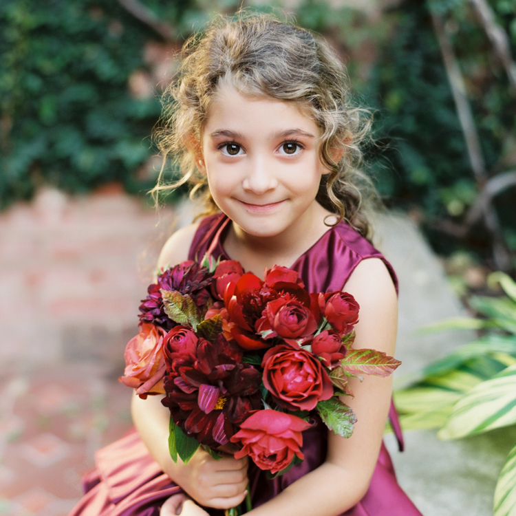 Flower Girl Bouquet by Sprout Floral Design