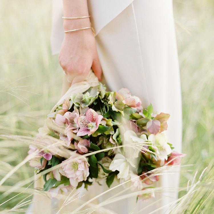 Hellebore Bouquet by Sprout Floral Design